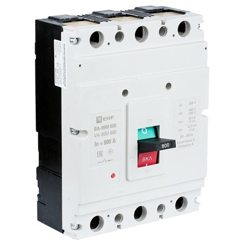 Автоматический выключатель EKF ВА-99М/800 3P (термомагнитный) 35kA 630 А