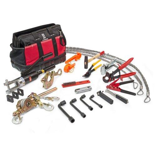 Набор для работы с кабелем КВТ НИС-3 (74295) красный/черный