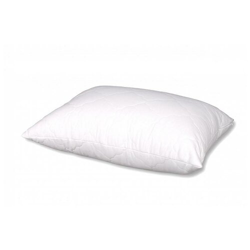 Подушка АльВиТек стеганная, Гостиница-Микрофибра (ПГС-МФ-050) 50 х 68 см белый