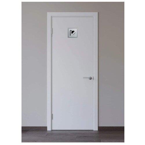 Табличка на дверь душевой комнаты silver