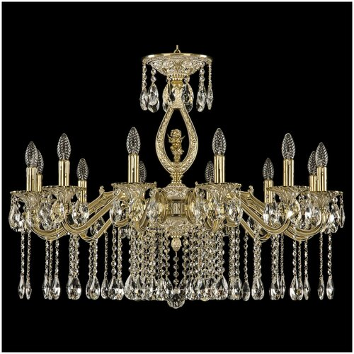 Люстра Bohemia Ivele Crystal 72402/12/300 A GW FA3B, E14, 480 Вт люстра bohemia ivele crystal 1771 12 340a gw