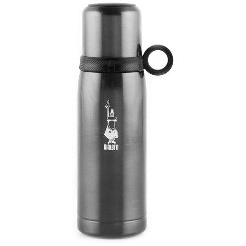 Классический термос Bialetti DCXIN00001/06, 0.46 л темно-серый