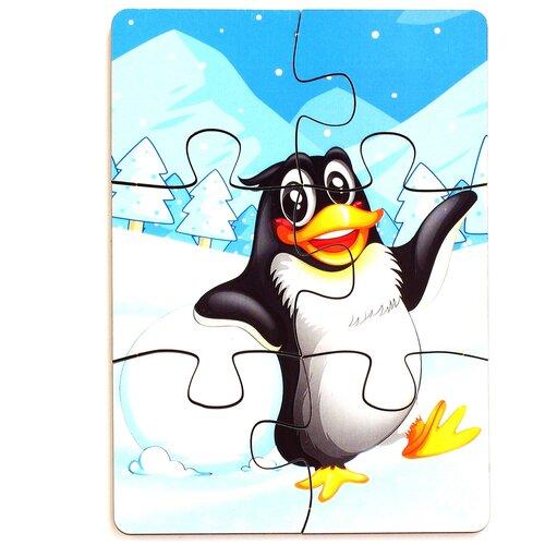 Пазл PAREMO Пингвин (PE720-73), 6 дет.