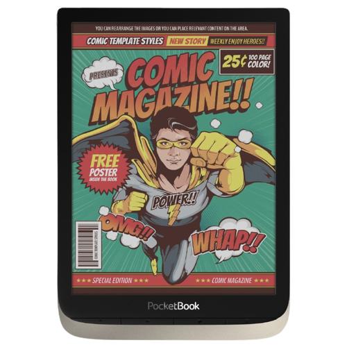 Электронная книга PocketBook 740 Color 16 ГБ серебристый