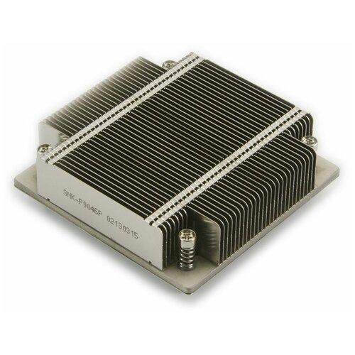 Радиатор для процессора Supermicro SNK-P0046P серебристый