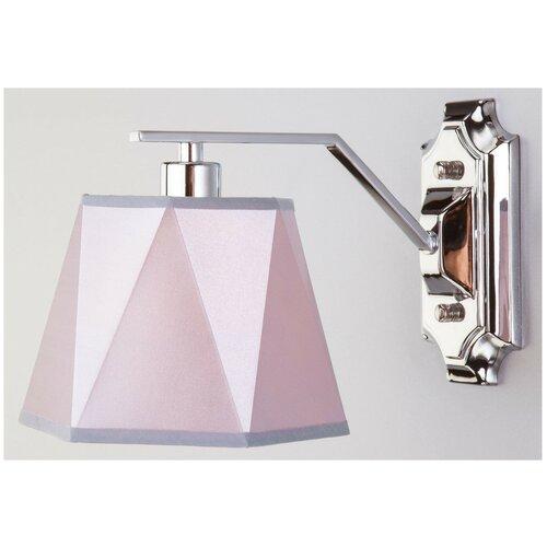 Настенный светильник Eurosvet Corner 60076/1 хром, 40 Вт настенный светильник евросвет corner 60076 1 хром