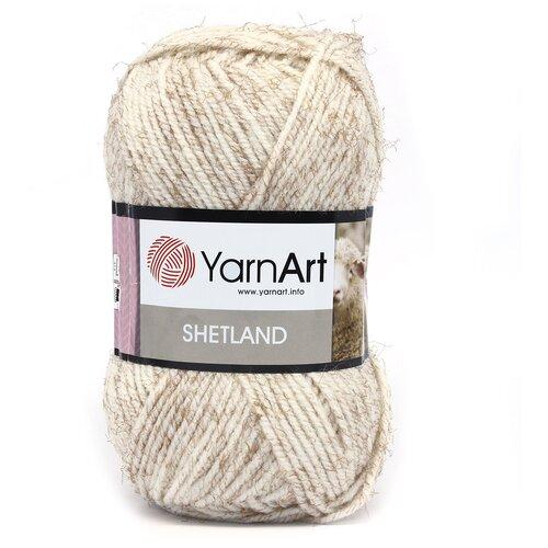 Купить Пряжа YarnArt 'Shetland' 100гр 220м (30% шерсть, 70% акрил) (535-А молочно-розовый), 5 мотков
