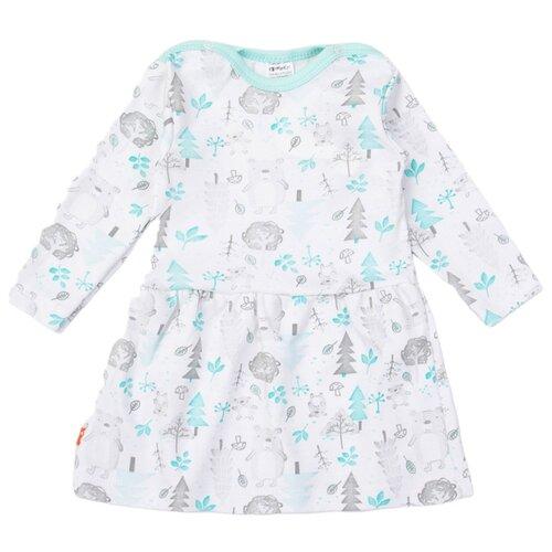 Фото - Платье KotMarKot размер 68, белый свитшот kotmarkot размер 68 белый
