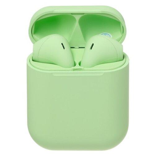 Беспроводные наушники Luazon i12 зеленый