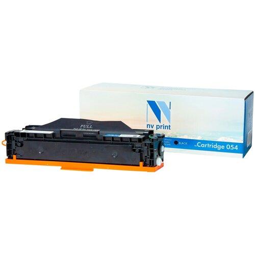 Картридж NV Print NV-054Bk для Canon, совместимый картридж nv print 712 для canon совместимый