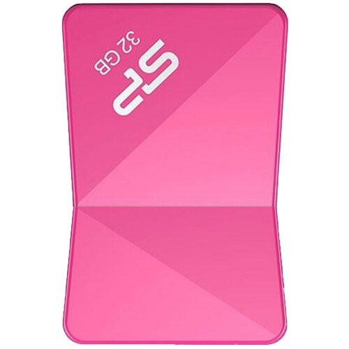 Фото - Флешка Silicon Power Touch T08 32GB 32 ГБ, розовый флешка usb 32gb silicon power touch t07 sp032gbuf2t07v1b синий