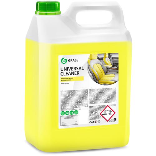 Grass Очиститель салона автомобиля Universal Cleaner (125197), 5.4 кг очиститель салона grass universal cleaner 20 кг