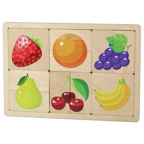 Рамка-вкладыш Десятое королевство Фрукты, ягоды (00737), 12 дет.