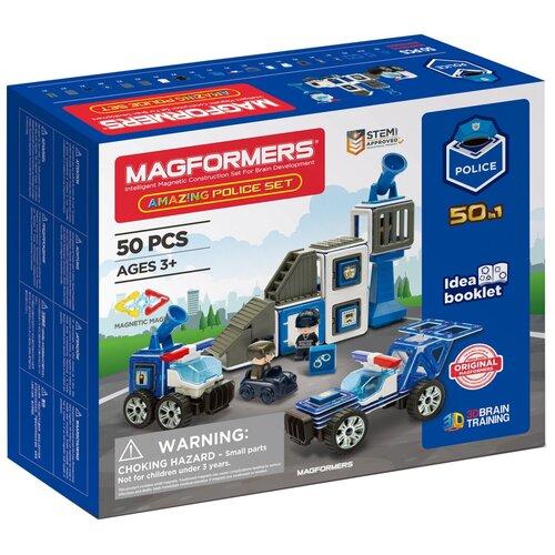 Купить Конструктор Magformers Amazing 717002 Police Set, Конструкторы