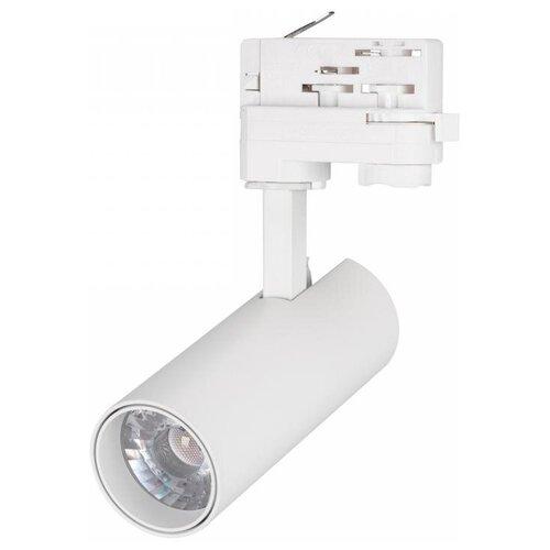 Трековый светильник-спот Arlight LGD-GERA-4TR-R55-10W Warm (WH, 24 deg) трековый светильник спот arlight lgd gera 4tr r55 10w day wh 24 deg