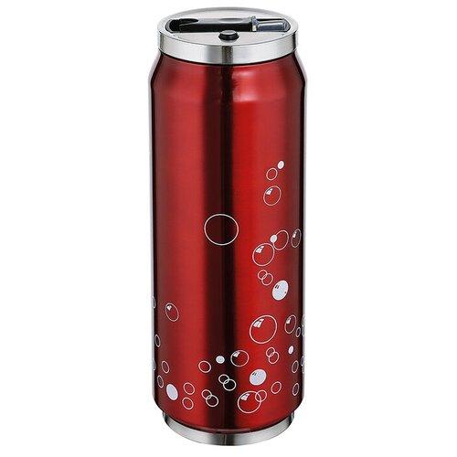 Термокружка LATTINA от Cilio, 0,5 л, d-7 см, h-19 см, красный, сталь