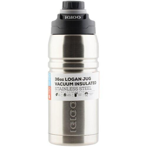 Классический термос Igloo Logan 36, 1 л steel