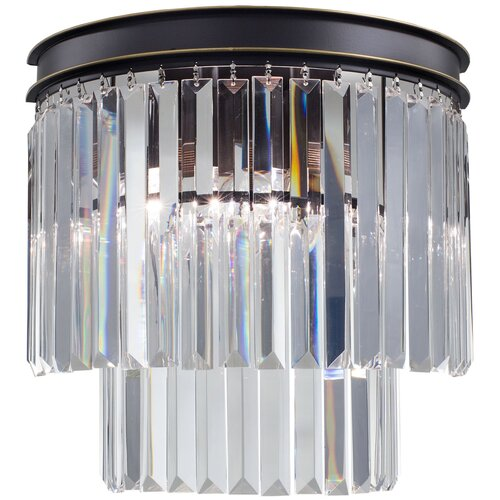 Настенный светильник Citilux Мартин CL332321, E14, 120 Вт, кол-во ламп: 2 шт., цвет арматуры: коричневый настенный светильник citilux медея cl436321 120 вт