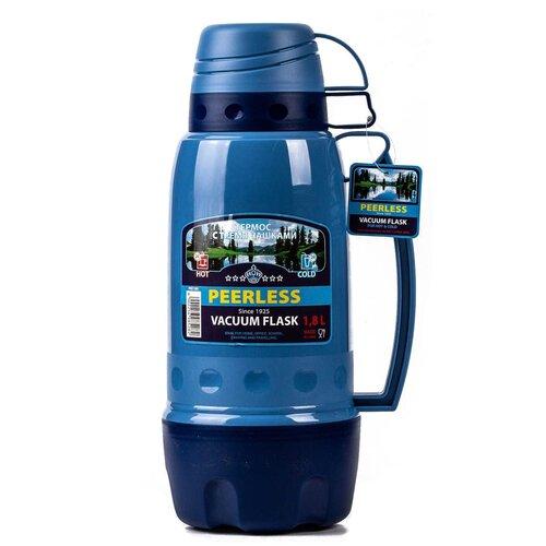 Классический термос Peerless PEE-180, 1.8 л синий