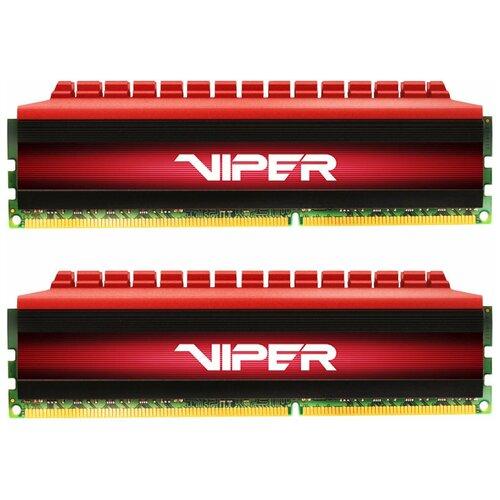 Фото - Оперативная память Patriot Memory VIPER 4 16GB (8GBx2) DDR4 3733MHz DIMM 288-pin CL17 PV416G373C7K оперативная память patriot memory viper rgb 16gb 8gbx2 ddr4 4133mhz dimm 288 pin cl19 pvr416g413c9k