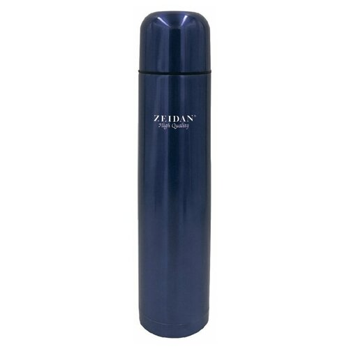 Классический термос Zeidan Z-9052, 0.75 л синий