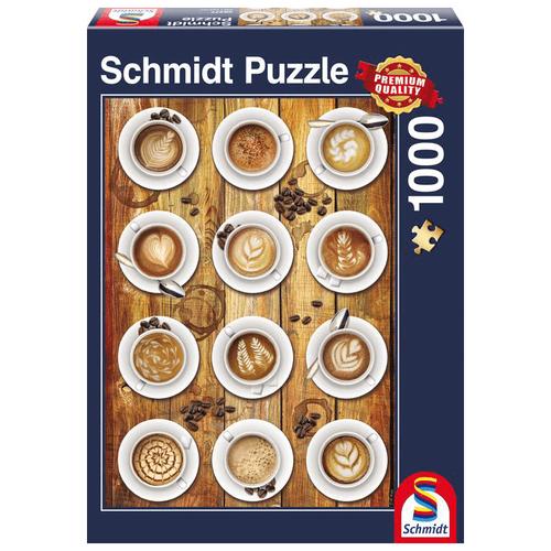 Пазл Schmidt Коллаж Кофе (58277), 1000 дет. пазл schmidt все для кухни 58141 1000 дет
