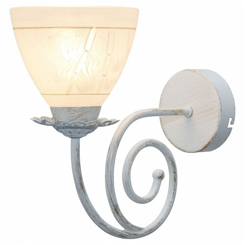 Фото - Настенный светильник Toplight Barbara TL1134-1W, 60 Вт настенный светильник toplight gertrude tl1138 1w 40 вт