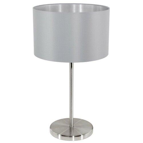 Фото - Настольная лампа Eglo Maserlo 31628, 60 Вт настольная лампа eglo montalbano 98381 60 вт