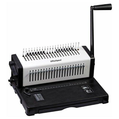Механический брошюровщик OfficeSpace BM204 Perfect bind черный/белый
