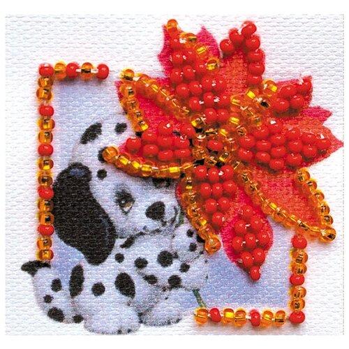 ABRIS ART Набор-магнит для вышивания Аленький цветочек 5 х 5 см (AMM-054) магнит бык селенит 5 5 6 5 см