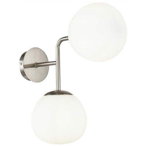 Настенный светильник MAYTONI Erich MOD221-WL-02-N, 80 Вт настенный светильник maytoni erich mod221 wl 02 g 80 вт