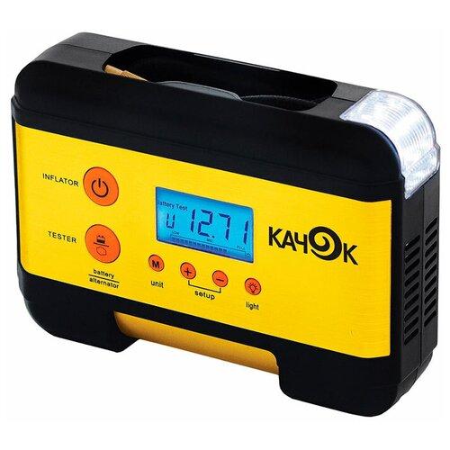 Автомобильный компрессор Качок K60 желтый