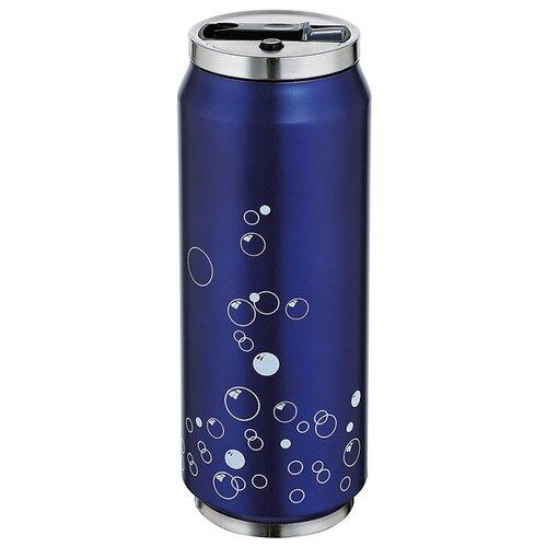 Термокружка LATTINA от Cilio, 0,5 л, d-7 см, h-19 см, синий, сталь