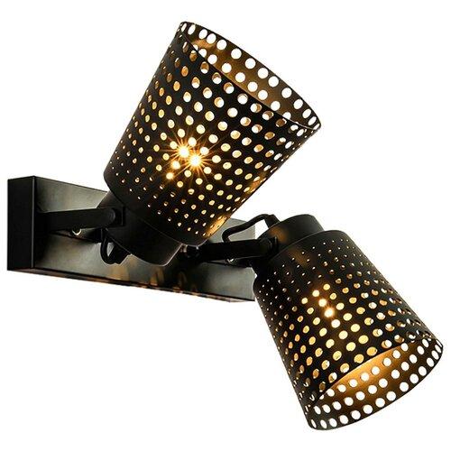 Светильник без ЭПРА Lussole Erie GRLSP-9835, 15 х 32 см, E27 спот lussole erie grlsp 9835 2x10вт e27