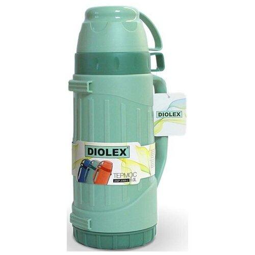 Классический термос Diolex DXP-600, 0.6 л зеленый
