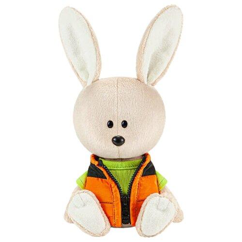 Фото - Мягкая игрушка Лесята Заяц Антоша в зелёной футболке и безрукавке 15 см мягкая игрушка лесята ёжик игоша в свитере 15 см