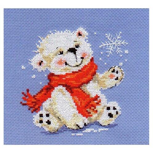Купить 0-53 Набор для вышивания АЛИСА 'Белый медвежонок' 12*13см, Алиса, Наборы для вышивания