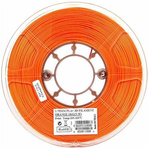 PLA+ пруток ESUN 1.75 мм оранжевый 1 кг