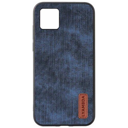 Фото - Чеxол (клип-кейс) Lyambda REYA для iPhone 12 Mini (LA07-1254-BL) Blue чеxол клип кейс lyambda eris для iphone 12 mini la11 1254 gr green