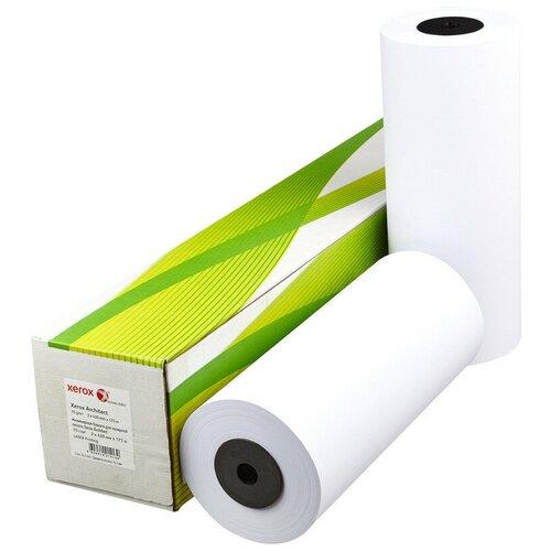 Фото - Бумага широкоформатная Xerox Architect 75г 420ммх175м 76мм широкоформатная бумага epson