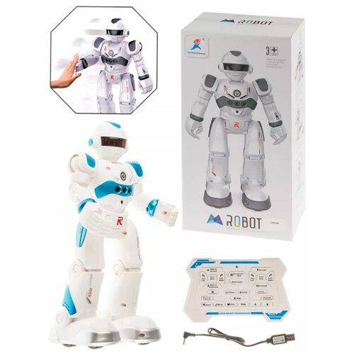 Купить Радиоуправляемый интерактивный робот / Робот / Интерактивная игрушка robor-R4GDBlue-01, Panawealth Inter Holdings, Роботы и трансформеры