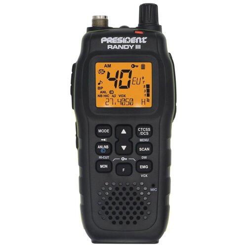 Автомобильная (портативная) радиостанция PRESIDENT RANDY III