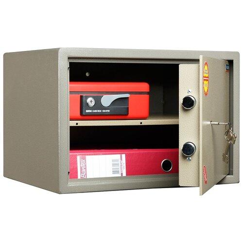 Сейф VALBERG ASM-30, коричневый с эффектом молотковой эмали