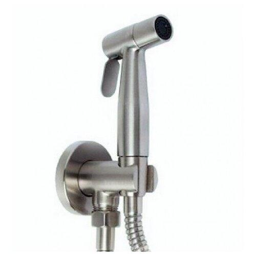 Гигиенический набор KAISER SH-347 (хром) металл. с клапаном