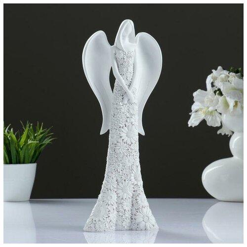 Фигура Ангел белый фигура ангел пальчик во рту белый 8х9х15см 3865133