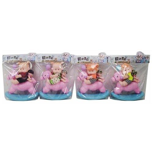 Купить Игровой набор Мой малыш , в комплекте кукла-пупс 25см., кукла-пупс 12, 5см, предм. 1шт. Shantoy Gepay Y23065014, Наша игрушка, Куклы и пупсы