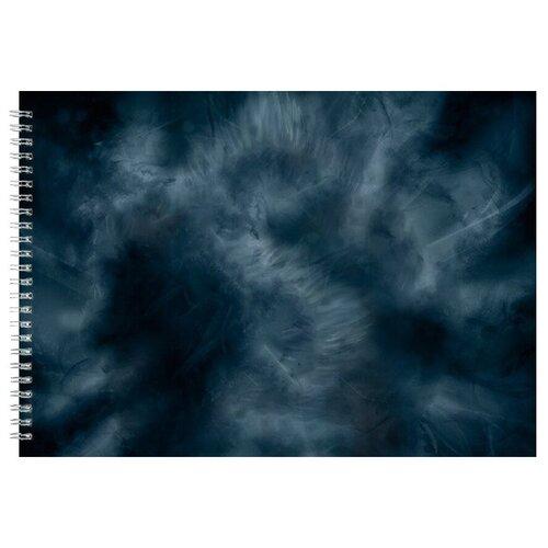 Альбом для рисования, скетчбук Волк из дыма