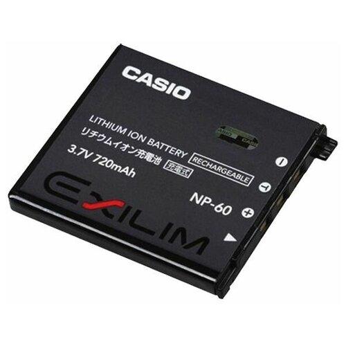 Фото - Аккумулятор Casio Exilim NP 60 для Casio EX-FS10, S10, S12, Z20, Z29, Z80, Z85, Z9, Z90 аккумулятор для фотоаппарата casio np 60