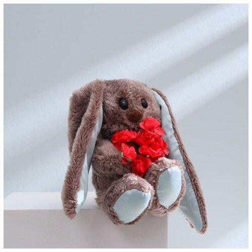 Зайки Li&Lu Мягкая игрушка брелок «Милый Lu», зайка