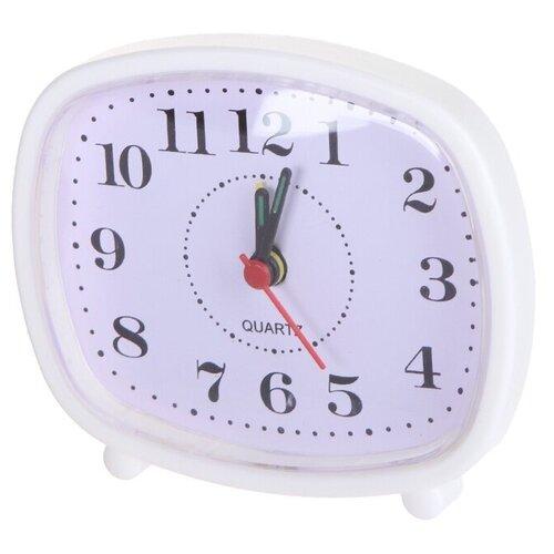Часы Perfeo Quartz PF-TC-005 White PF_C3104 часы perfeo quartz pf tc 003 green pf c3094